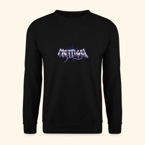 Mettigel T Shirt Design Heavy Metal Schriftzug - Unisex Pullover