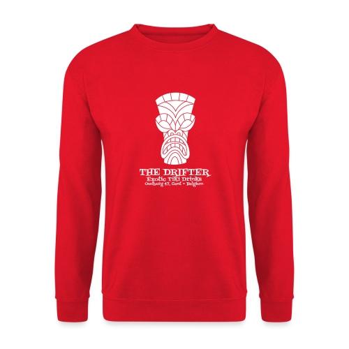 tshirt logo wit - Unisex sweater