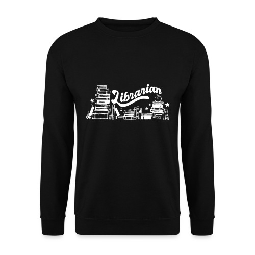 0323 Funny design Librarian Librarian - Unisex Sweatshirt