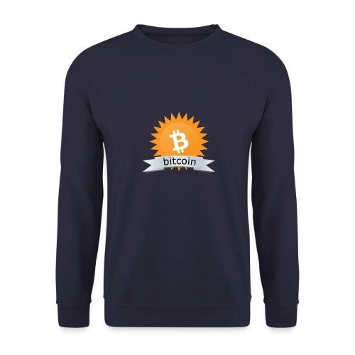 Bitcoin logo - Unisex sweater