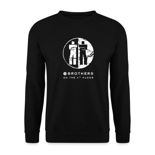 2 Brothers White text - Unisex Sweatshirt