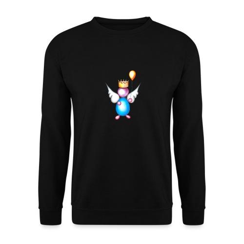 Mettalic Angel happiness - Sweat-shirt Unisexe