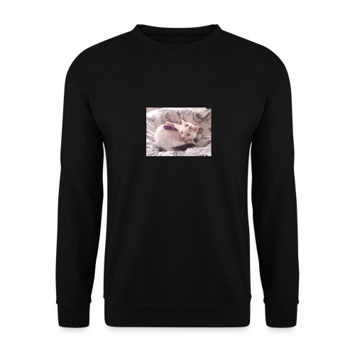 CAT SURROUNDED BY MICE AND BUTTERFLIES. - Unisex Sweatshirt