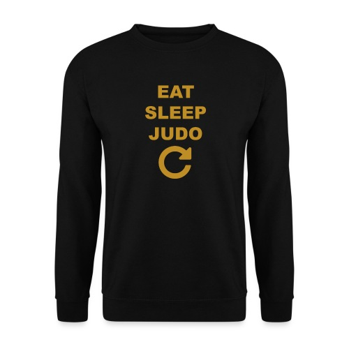 Eat sleep Judo repeat - Bluza unisex