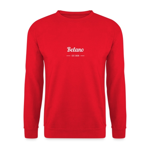Belano The Limited Edition - Unisex Pullover