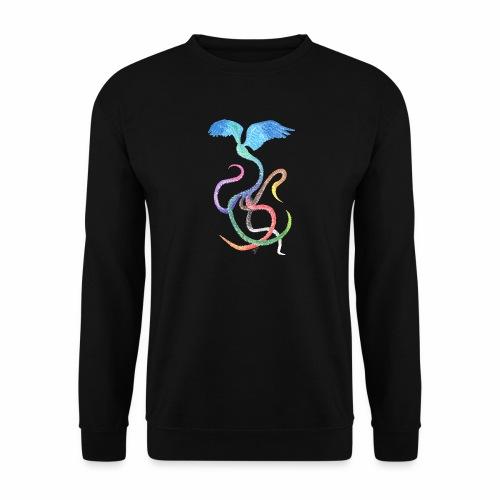 Gracieux - Oiseau arc-en-ciel à l'encre - Sweat-shirt Unisexe