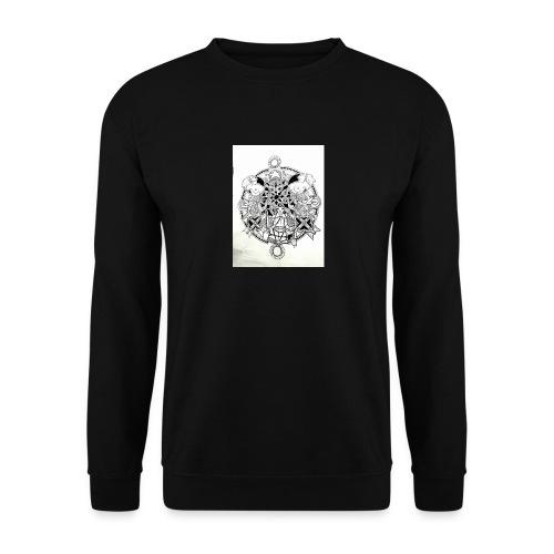 guerriere celtique entrelacs bretagne femme - Sweat-shirt Unisexe