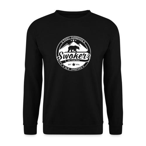 SWOKERZ Logo Blanc - Sweat-shirt Unisexe
