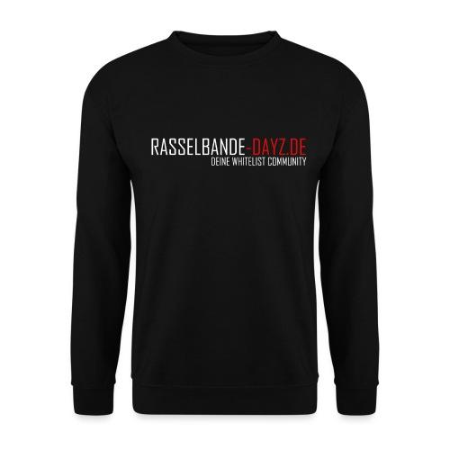 Rasselbande-logo_weiß - Unisex Pullover