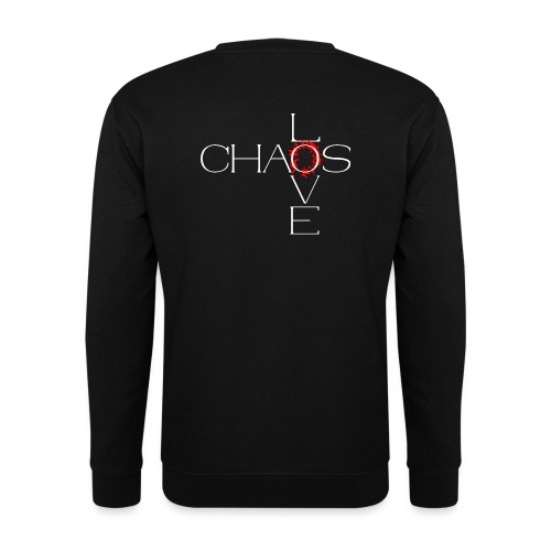 Chaos love - Sweat-shirt Unisexe