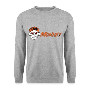 Raw Monkey Logo - Sweat-shirt Homme