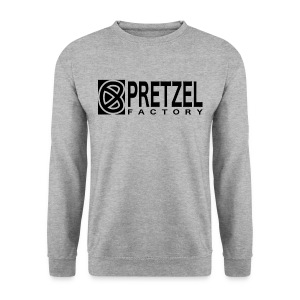 Pretzel Factory Logo Noir - Sweat-shirt Homme