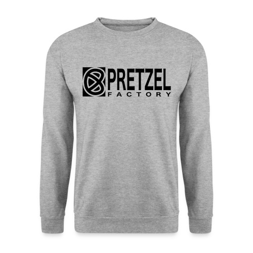 Pretzel Factory Logo Noir - Sweat-shirt Homme