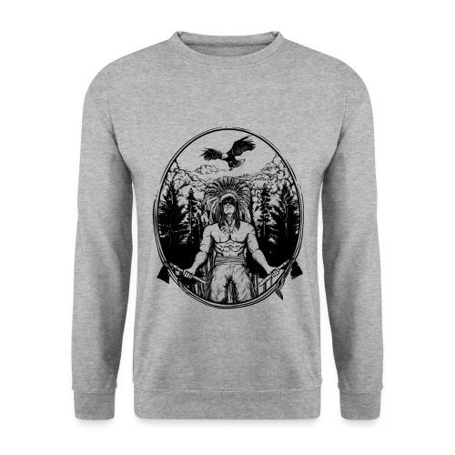 Indianer Krieger - Männer Pullover