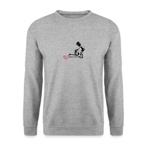 liebe ist cool - Männer Pullover