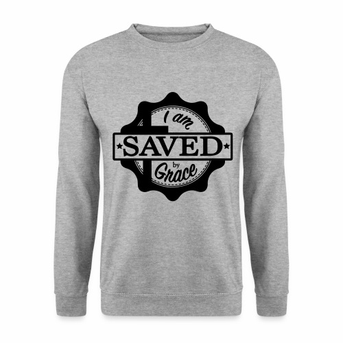 Saved by grace - Sweat-shirt Homme