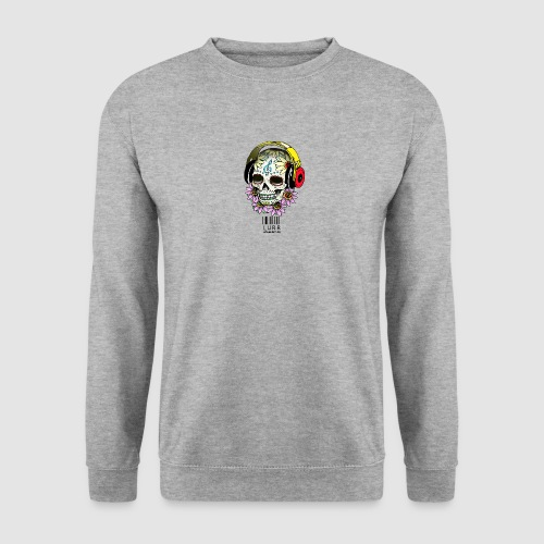 smiling_skull - Men's Sweatshirt