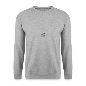 SenseRecord Vit Mugg - Men's Sweatshirt