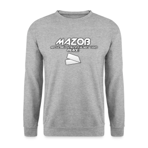 Ill See You All In The Next Video Mazob Grey Stree - Men's Sweatshirt