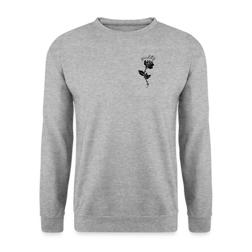 Quality Rose - Men's Sweatshirt