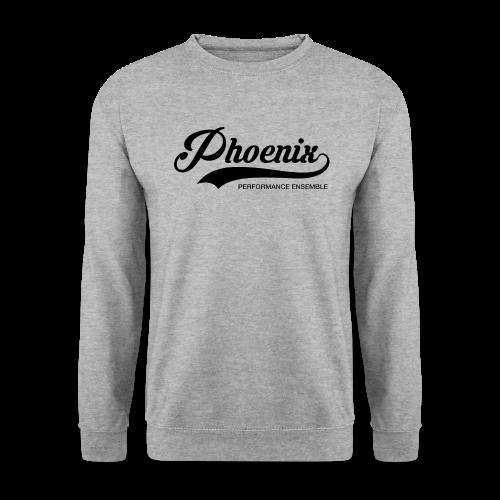 Phoenix Retro Black - Männer Pullover