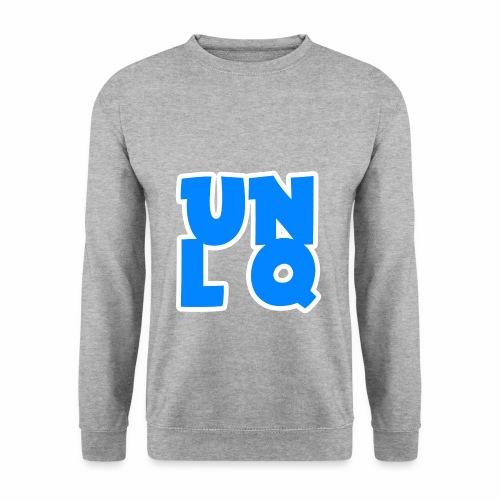 Mit dem Orginalen UNLQ Logo - Männer Pullover