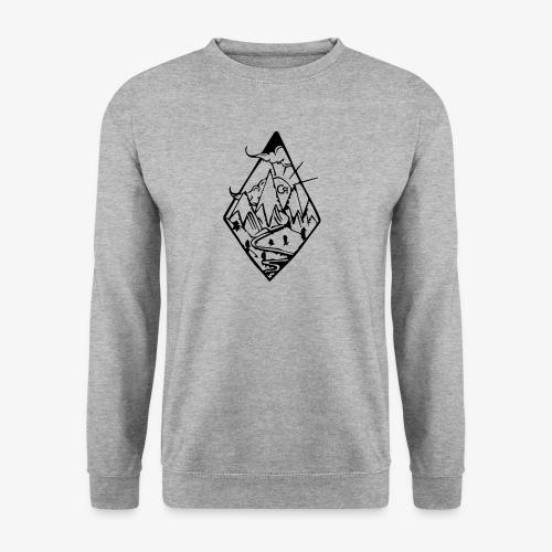 losange cr - Sweat-shirt Homme