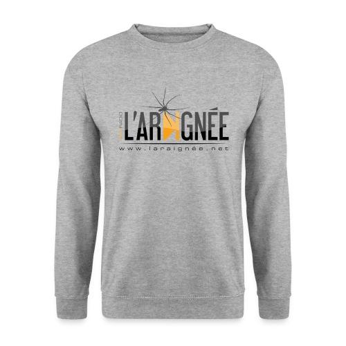 L'ARAIGNÉE, logo noir - Sweat-shirt Homme