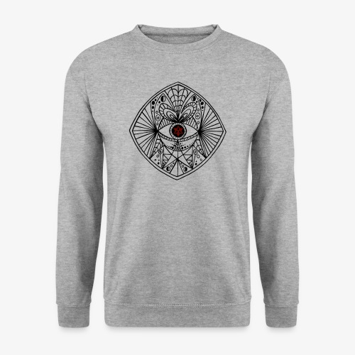 BEGONE EYE MANDALA - Sweat-shirt Homme