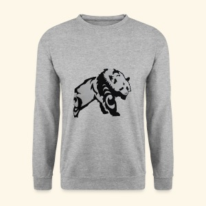Dessin Panda tribal - Sweat-shirt Homme