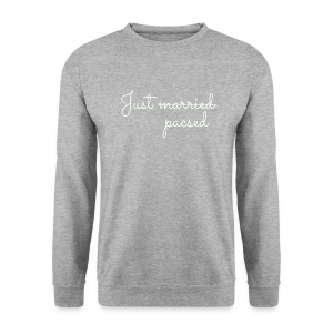 Just pacsed blanc - Sweat-shirt Homme
