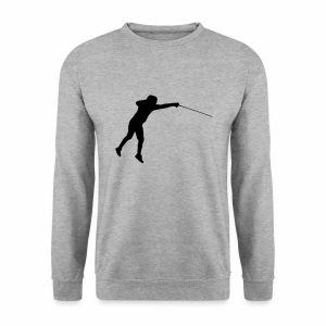 Jumping Fencer - Männer Pullover