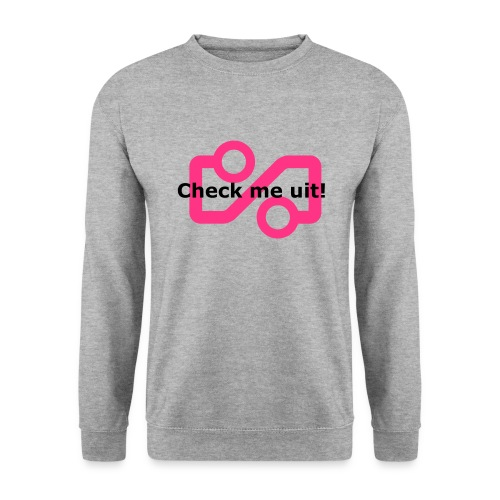 Check me Uit! - Men's Sweatshirt