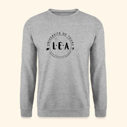 L.E.A Noir - Sweat-shirt Homme