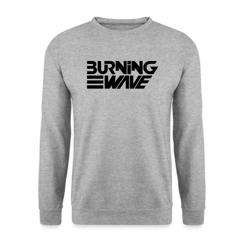 Burning Wave Block - Sweat-shirt Homme
