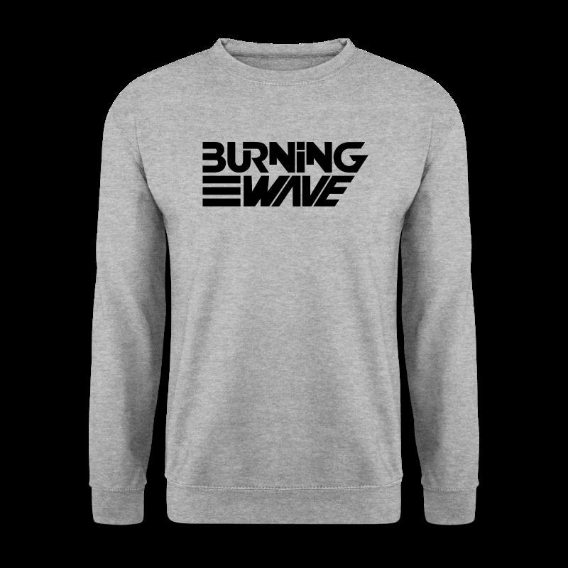 Burning Wave Block - Sweat-shirt Homme
