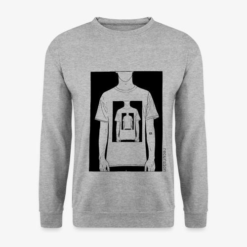 Recursion   Loop   Repeat   Optical illusion - Men's Sweatshirt
