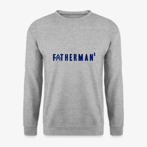 father's day t-shirt - fatherman1 - Men's Sweatshirt