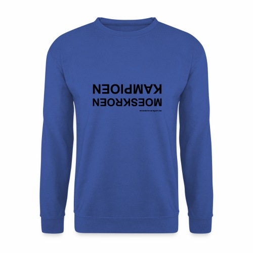 Moeskroen Kampioen - Mannen sweater