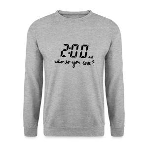 2 am / enchanted - Mannen sweater
