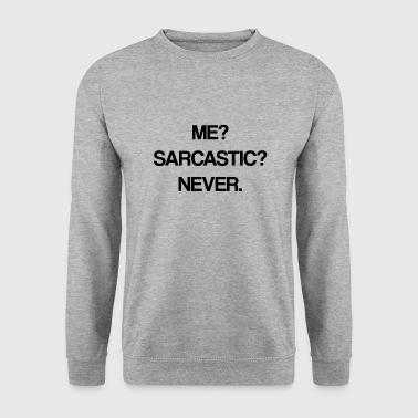 sarkastisk - Herre sweater