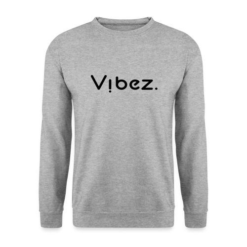 vibezschwarz jpg - Männer Pullover