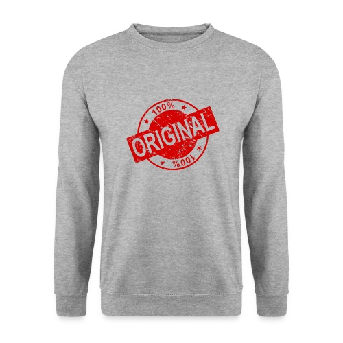 100 percent original - Men's Sweatshirt