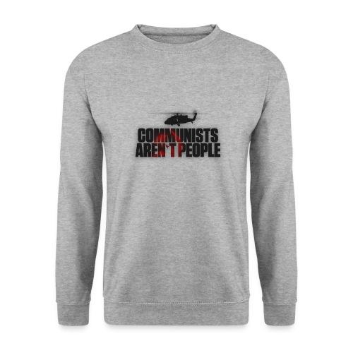Communists aren't People (No uzalu logo) - Men's Sweatshirt