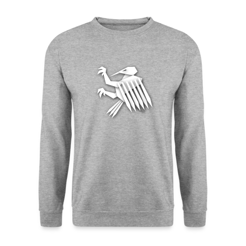 Nörthstat Group ™ White Alaeagle - Men's Sweatshirt