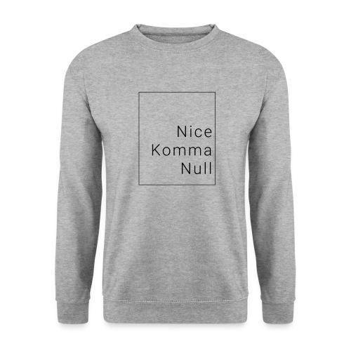In the box/ black/ Nice Komma Null - Männer Pullover