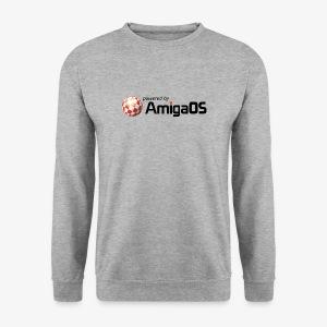 PoweredByAmigaOS Black - Men's Sweatshirt