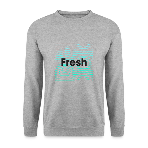 Fresh - noir - Sweat-shirt Homme