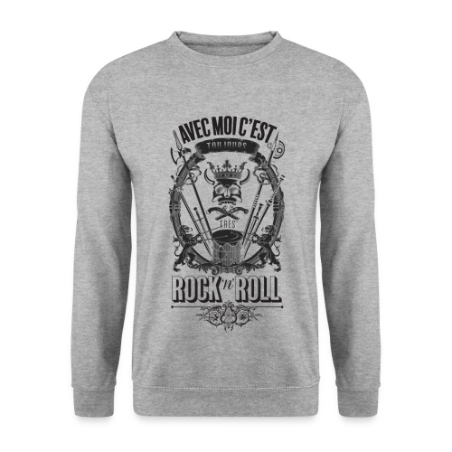 Rock'n'roll - Sweat-shirt Homme