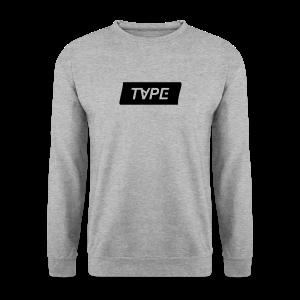 TAPE SHAPE BLACK - Mannen sweater